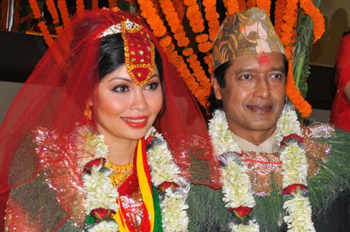 Rajesh-Hamal-Madhu-Bhattarai-Marriage-1