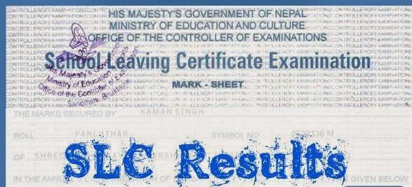 SLC Result 2072-2073